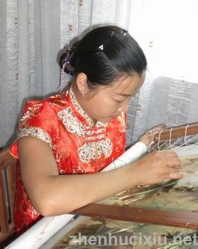 缘绣坊yabo官网艺术制作中心创办人钱亚清