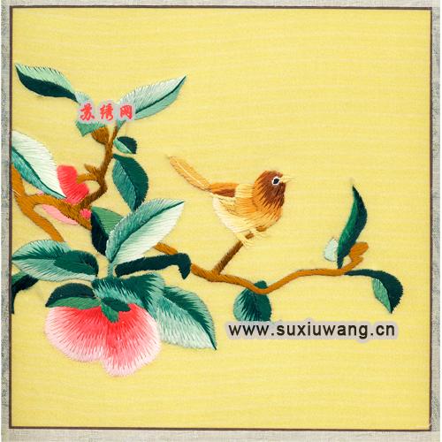 软裱边框30x30cm   【加工方式】纯手工刺绣   【用途】居家装饰/商务